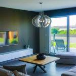 DONCOURT-LES-CONFLANS - Maison déco design moderne, salon séjour, finition haut de gamme - CARTEYCOLOR