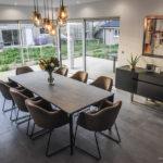 FLEVY - Maison déco design moderne, salle à manger, peinture acrylique haut de gamme - CARTEYCOLOR