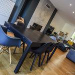 AY-SUR-MOSELLE - Maison déco design moderne, salle à manger, peinture acrylique, parquet chêne, finition haut de gamme - CARTEYCOLOR