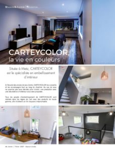 Article photos décoration design Maison&Jardin p60 - CARTEYCOLOR