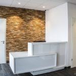 CONFLANS-EN-JARNISY - Cabinet dentaire Bordron, accueil, déco design moderne, finition haut de gamme - CARTEYCOLOR