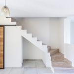 TRIEUX - Déco design moderne contemporain escalier béton ciré, Lorraine - CARTEYCOLOR