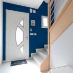 SAULNY - Maison moderne mise en peinture entrée - CARTEYCOLOR