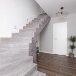 EVRANGE - Maison moderne, réalisation d'un béton ciré - CARTEYCOLOR